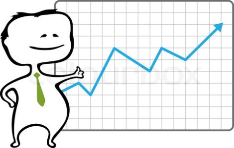 2293176-499278-happy-trader-and-a-chart-with-a-rising-blue-arrow-vector-illustration-in-cartoon-style