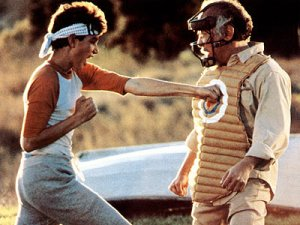 original-karate-Kid-Ralph-Macchio-punches-Pat-Morita-catchers-mask
