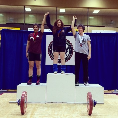 Congrats to Coach Ursula for her win at Master's Nationals!